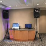 office karaoke set up in London