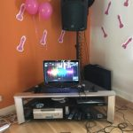 house karaoke system installed in Newcastle on hire