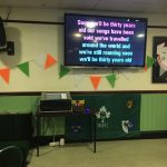 big screen karaoke hire