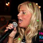 Karaoke Singing with Hire Machine and Disco Lights